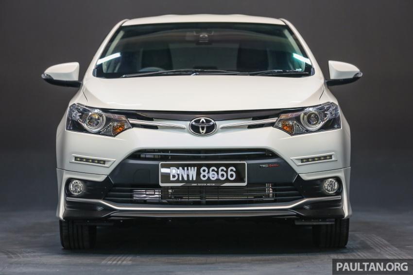 Toyota Vios 2016 kini dilancarkan – Dual VVT-i, CVT, EEV, VSC semua varian, dari RM76,500-RM96,400 Image #558106