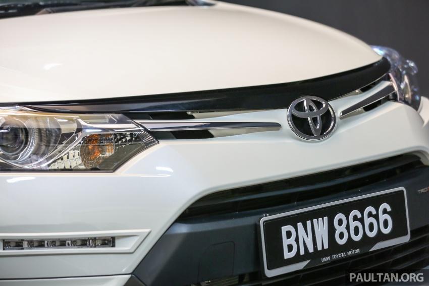Toyota Vios 2016 kini dilancarkan – Dual VVT-i, CVT, EEV, VSC semua varian, dari RM76,500-RM96,400 Image #558102