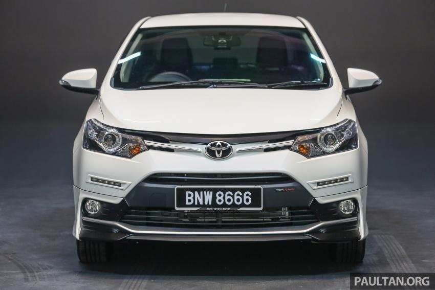 Toyota Vios 2016 kini dilancarkan – Dual VVT-i, CVT, EEV, VSC semua varian, dari RM76,500-RM96,400 Image #557965