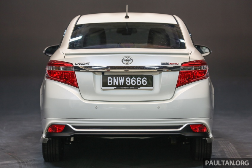 Toyota Vios 2016 kini dilancarkan – Dual VVT-i, CVT, EEV, VSC semua varian, dari RM76,500-RM96,400 Image #557950