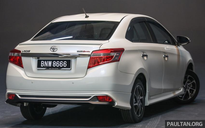 Toyota Vios 2016 kini dilancarkan – Dual VVT-i, CVT, EEV, VSC semua varian, dari RM76,500-RM96,400 Image #558133