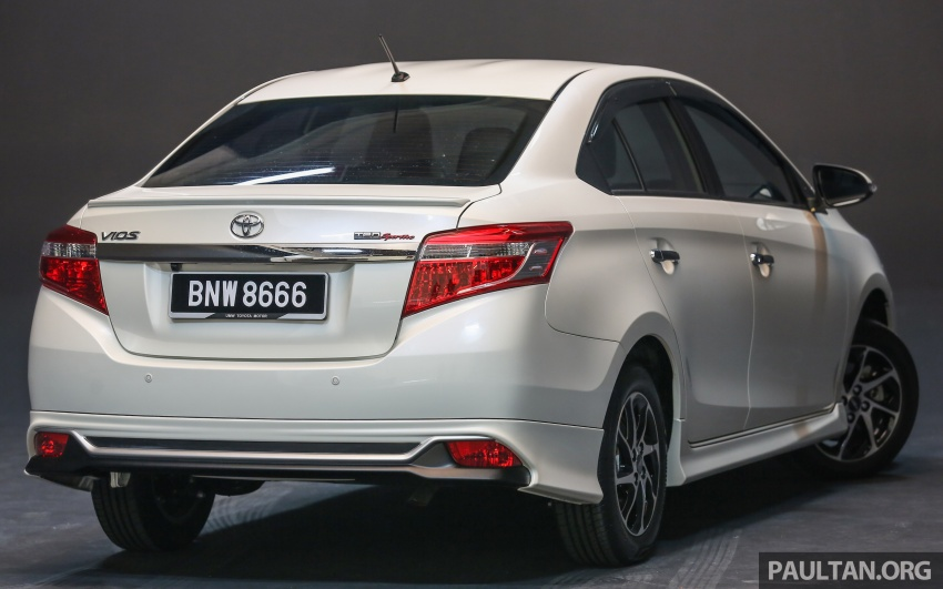 New 2016 Toyota Vios launched in Malaysia – EEV, Dual VVT-i, CVT, VSC standard, RM76,500 – RM96,400 Image #557982