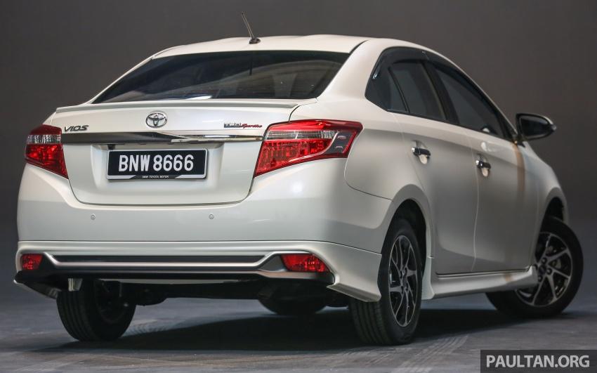 Toyota Vios 2016 kini dilancarkan – Dual VVT-i, CVT, EEV, VSC semua varian, dari RM76,500-RM96,400 Image #558134