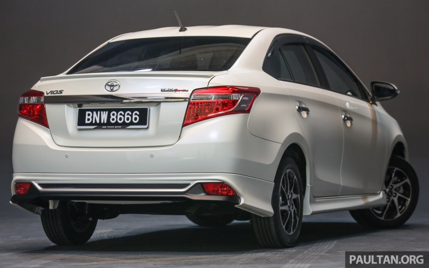 New 2016 Toyota Vios launched in Malaysia – EEV, Dual VVT-i, CVT, VSC standard, RM76,500 – RM96,400 Image #557983
