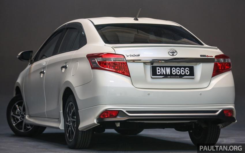 Toyota Vios 2016 kini dilancarkan – Dual VVT-i, CVT, EEV, VSC semua varian, dari RM76,500-RM96,400 Image #558135