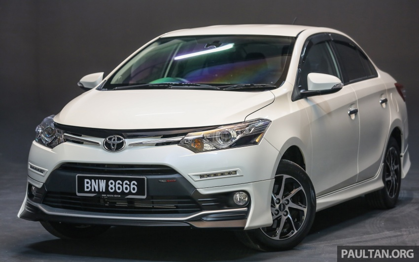 New 2016 Toyota Vios launched in Malaysia – EEV, Dual VVT-i, CVT, VSC standard, RM76,500 – RM96,400 Image #557955