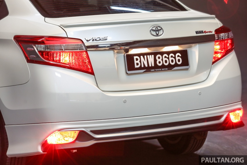 Toyota Vios 2016 kini dilancarkan – Dual VVT-i, CVT, EEV, VSC semua varian, dari RM76,500-RM96,400 Image #558089