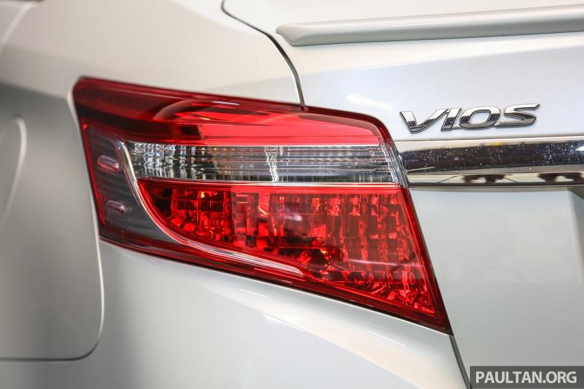Toyota Vios 2016 kini dilancarkan – Dual VVT-i, CVT, EEV, VSC semua varian, dari RM76,500-RM96,400 Image #558088