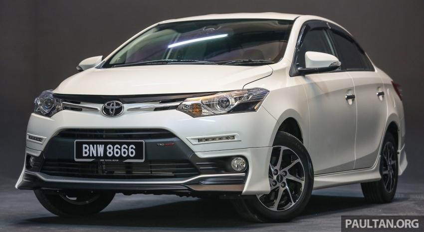 Toyota Vios 2016 kini dilancarkan – Dual VVT-i, CVT, EEV, VSC semua varian, dari RM76,500-RM96,400 Image #558141