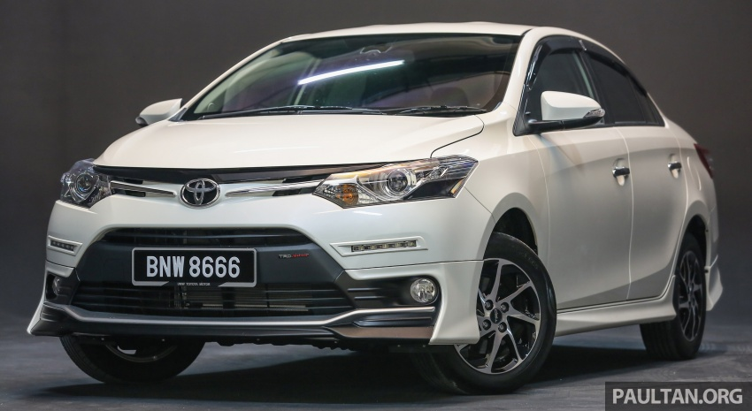 New 2016 Toyota Vios launched in Malaysia – EEV, Dual VVT-i, CVT, VSC standard, RM76,500 – RM96,400 Image #557957