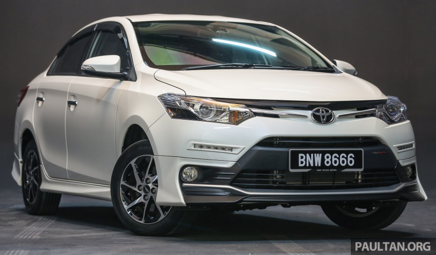 New 2016 Toyota Vios launched in Malaysia – EEV, Dual VVT-i, CVT, VSC standard, RM76,500 – RM96,400 Image #557958