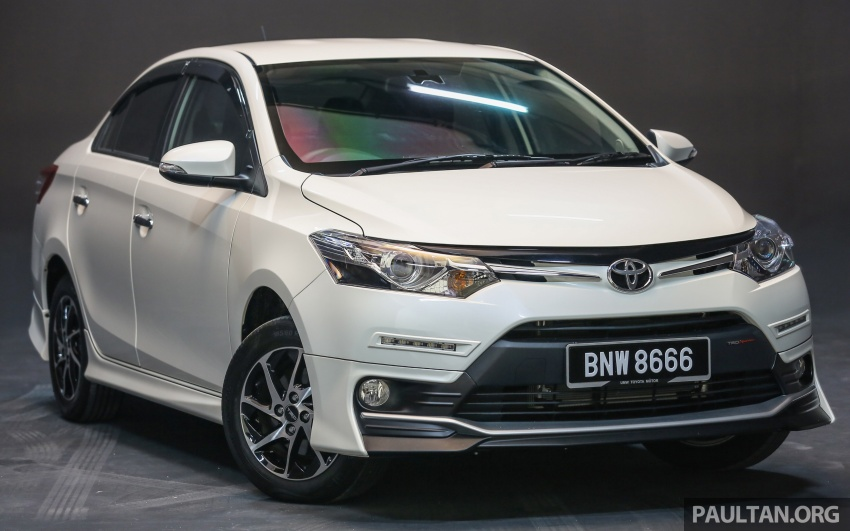 New 2016 Toyota Vios launched in Malaysia – EEV, Dual VVT-i, CVT, VSC standard, RM76,500 – RM96,400 Image #557959