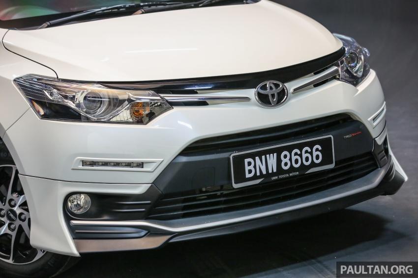 Toyota Vios 2016 kini dilancarkan – Dual VVT-i, CVT, EEV, VSC semua varian, dari RM76,500-RM96,400 Image #558076