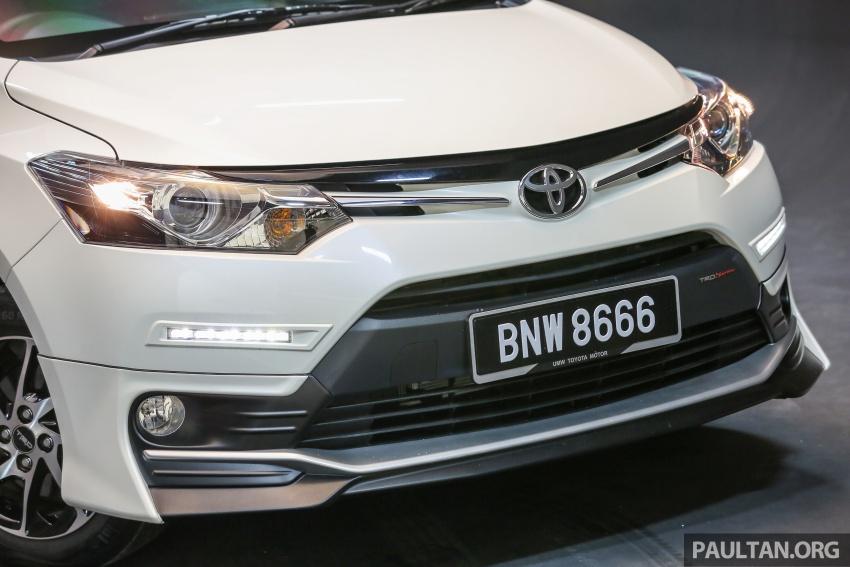 Toyota Vios 2016 kini dilancarkan – Dual VVT-i, CVT, EEV, VSC semua varian, dari RM76,500-RM96,400 Image #558075