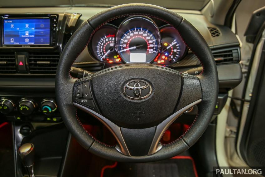 Toyota Vios 2016 kini dilancarkan – Dual VVT-i, CVT, EEV, VSC semua varian, dari RM76,500-RM96,400 Image #558072