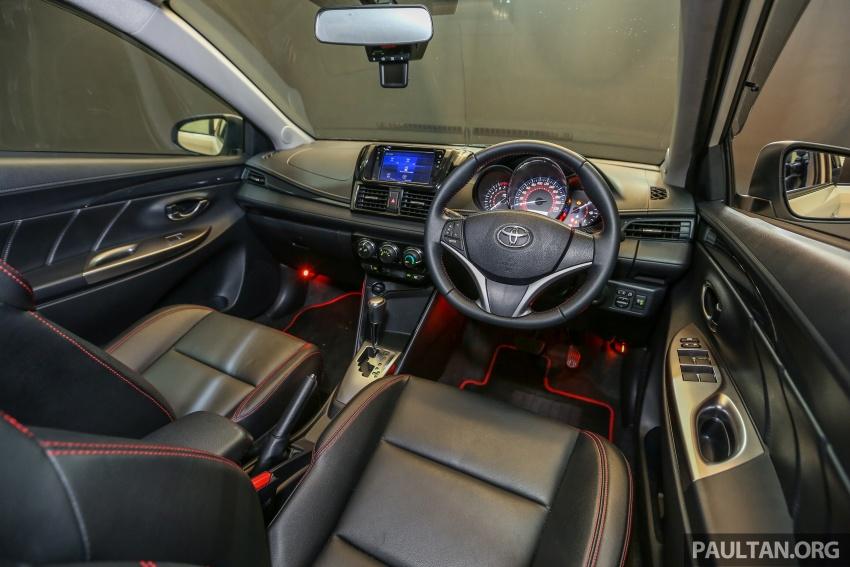 Toyota Vios 2016 kini dilancarkan – Dual VVT-i, CVT, EEV, VSC semua varian, dari RM76,500-RM96,400 Image #558053