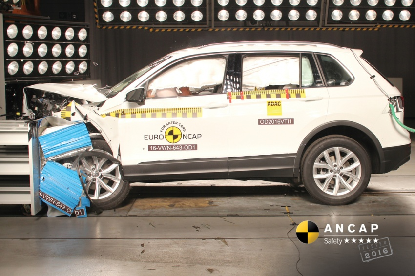 BMW X1, Jeep Renegade and Volkswagen Tiguan manage to secure five-star safety rating from ANCAP Image #559751