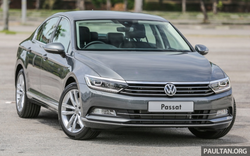 Volkswagen Passat B8 dipertonton awal sebelum pelancaran – pilihan enjin 1.8L dan 2.0L TSI, tiga varian Image #572345