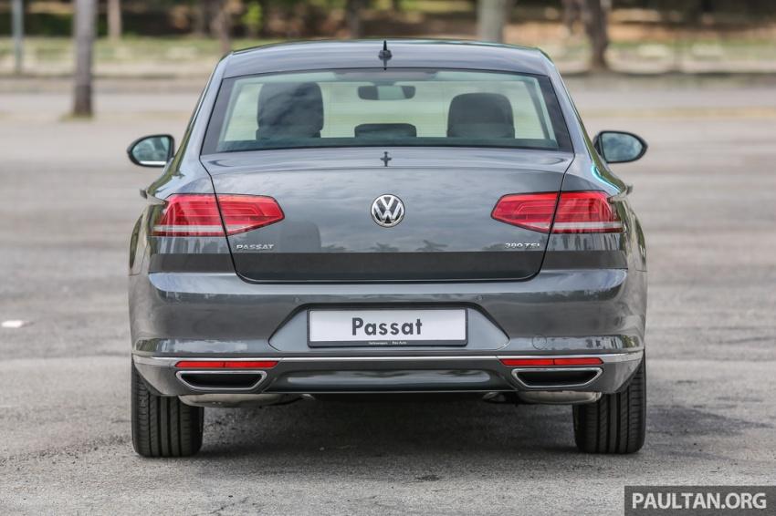 Volkswagen Passat B8 dipertonton awal sebelum pelancaran – pilihan enjin 1.8L dan 2.0L TSI, tiga varian Image #572355