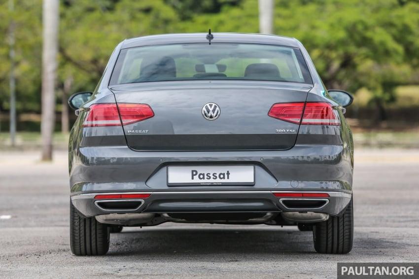 Volkswagen Passat B8 dipertonton awal sebelum pelancaran – pilihan enjin 1.8L dan 2.0L TSI, tiga varian Image #572357