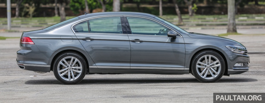 B8 Volkswagen Passat previewed in Malaysia – 1.8L and 2.0L TSI, 3 trim levels, launching this month Image #572205