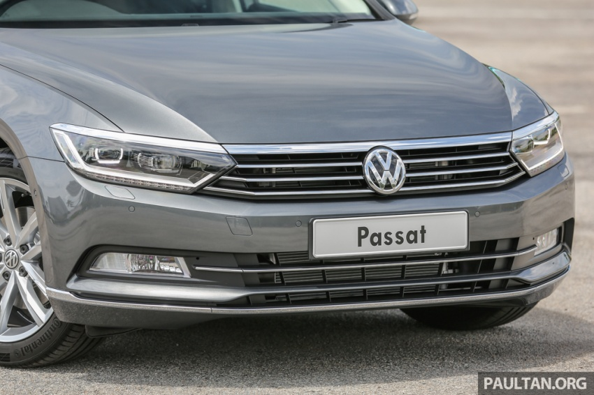Volkswagen Passat B8 dipertonton awal sebelum pelancaran – pilihan enjin 1.8L dan 2.0L TSI, tiga varian Image #572360