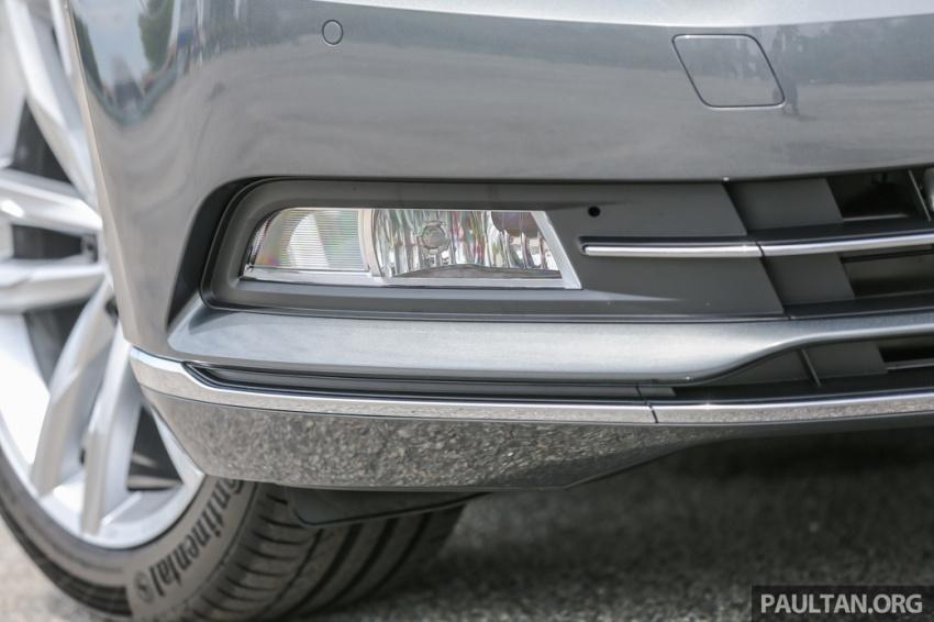 Volkswagen Passat B8 dipertonton awal sebelum pelancaran – pilihan enjin 1.8L dan 2.0L TSI, tiga varian Image #572363