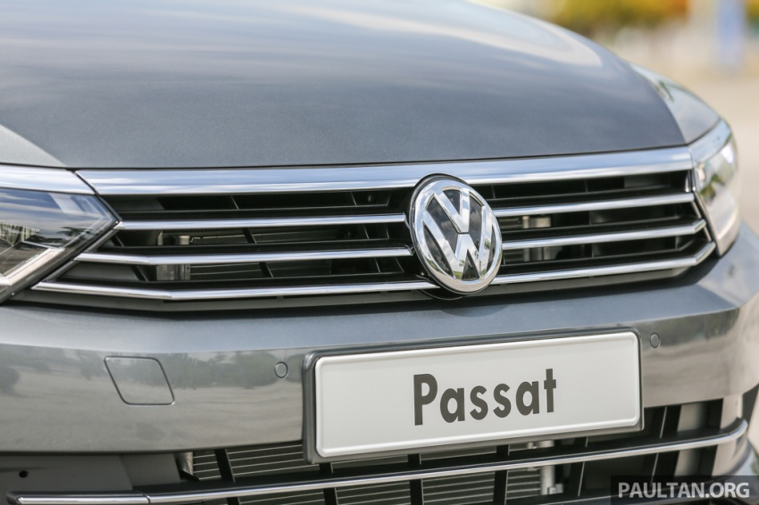Volkswagen Passat B8 dipertonton awal sebelum pelancaran – pilihan enjin 1.8L dan 2.0L TSI, tiga varian Image #572364