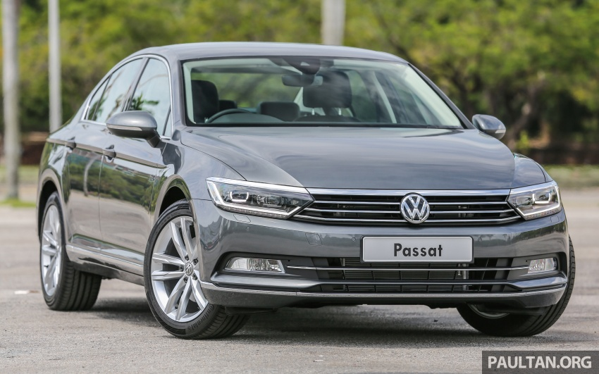 B8 Volkswagen Passat previewed in Malaysia – 1.8L and 2.0L TSI, 3 trim levels, launching this month Image #572194
