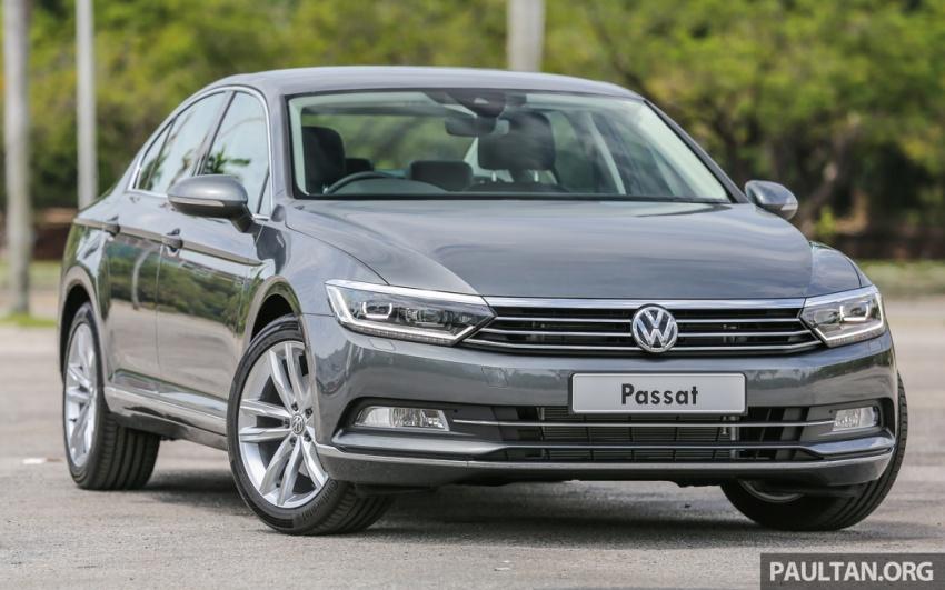 Volkswagen Passat B8 dipertonton awal sebelum pelancaran – pilihan enjin 1.8L dan 2.0L TSI, tiga varian Image #572346