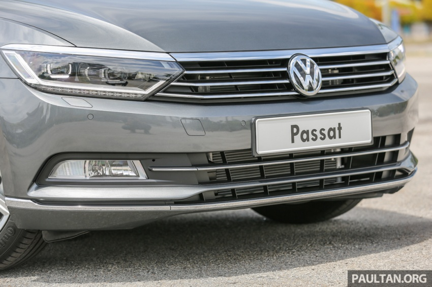Volkswagen Passat B8 dipertonton awal sebelum pelancaran – pilihan enjin 1.8L dan 2.0L TSI, tiga varian Image #572365