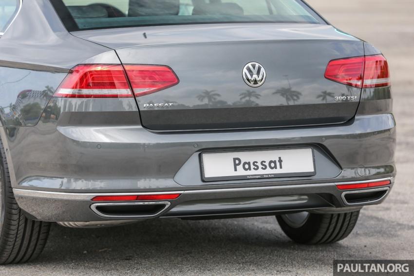 Volkswagen Passat B8 dipertonton awal sebelum pelancaran – pilihan enjin 1.8L dan 2.0L TSI, tiga varian Image #572366