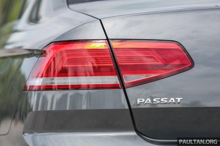 Volkswagen Passat B8 dipertonton awal sebelum pelancaran – pilihan enjin 1.8L dan 2.0L TSI, tiga varian Image #572367