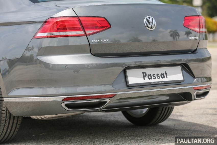 Volkswagen Passat B8 dipertonton awal sebelum pelancaran – pilihan enjin 1.8L dan 2.0L TSI, tiga varian Image #572371