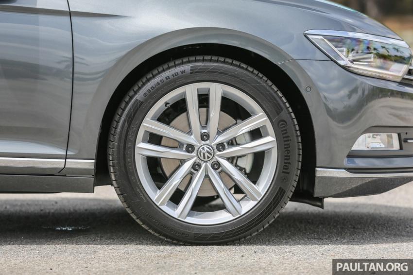 Volkswagen Passat B8 dipertonton awal sebelum pelancaran – pilihan enjin 1.8L dan 2.0L TSI, tiga varian Image #572373