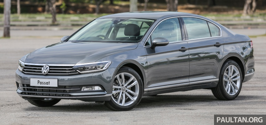 B8 Volkswagen Passat previewed in Malaysia – 1.8L and 2.0L TSI, 3 trim levels, launching this month Image #572195