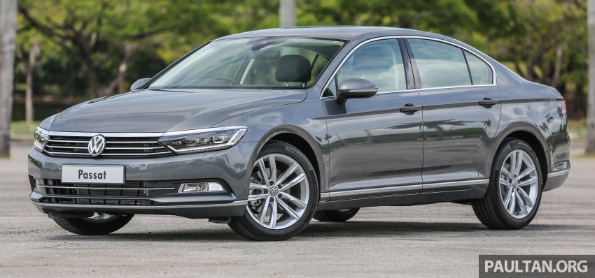 B8 Volkswagen Passat previewed in Malaysia – 1.8L and 2.0L TSI, 3 trim levels, launching this month Image #572196