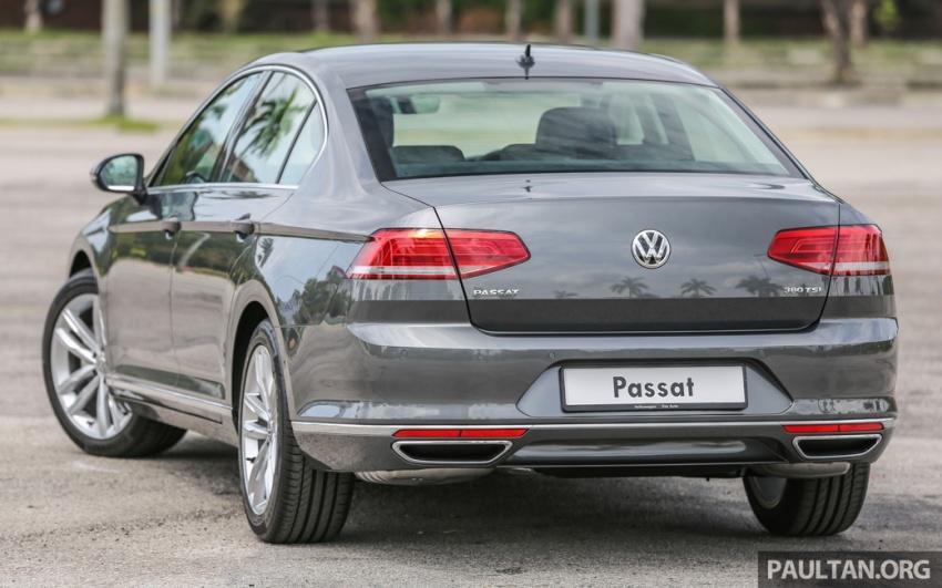 Volkswagen Passat B8 dipertonton awal sebelum pelancaran – pilihan enjin 1.8L dan 2.0L TSI, tiga varian Image #572349