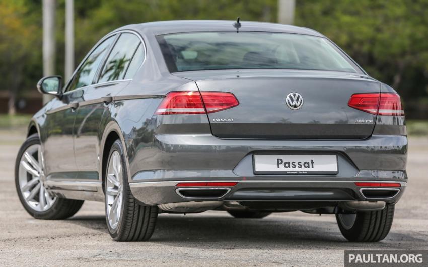 Volkswagen Passat B8 dipertonton awal sebelum pelancaran – pilihan enjin 1.8L dan 2.0L TSI, tiga varian Image #572350