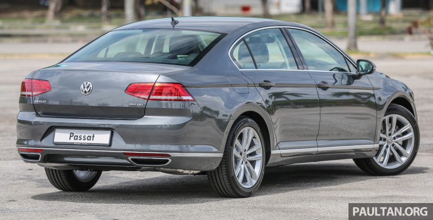 B8 Volkswagen Passat previewed in Malaysia – 1.8L and 2.0L TSI, 3 trim levels, launching this month Image #572199
