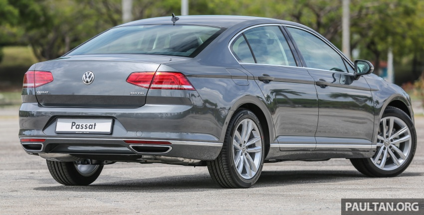 B8 Volkswagen Passat previewed in Malaysia – 1.8L and 2.0L TSI, 3 trim levels, launching this month Image #572200