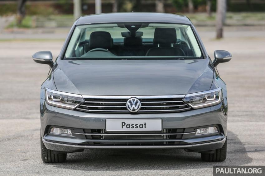 Volkswagen Passat B8 dipertonton awal sebelum pelancaran – pilihan enjin 1.8L dan 2.0L TSI, tiga varian Image #572353