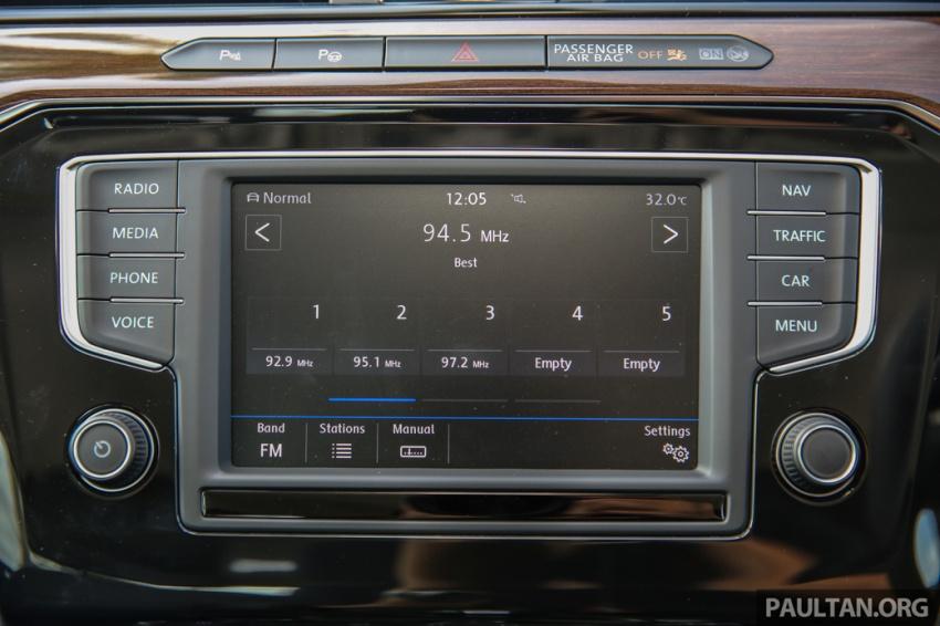 Volkswagen Passat B8 dipertonton awal sebelum pelancaran – pilihan enjin 1.8L dan 2.0L TSI, tiga varian Image #572397