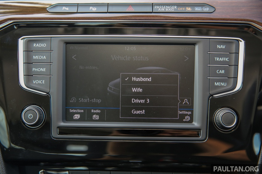 Volkswagen Passat B8 dipertonton awal sebelum pelancaran – pilihan enjin 1.8L dan 2.0L TSI, tiga varian Image #572399