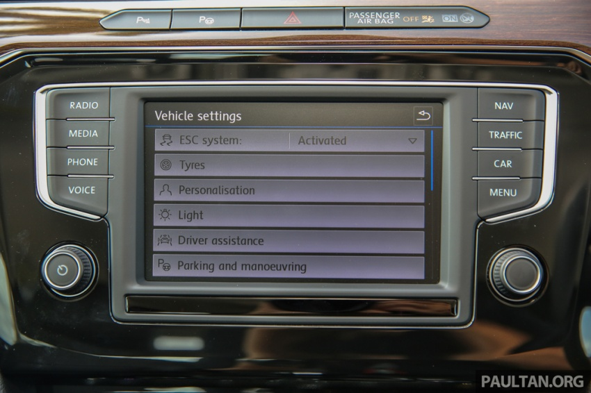 Volkswagen Passat B8 dipertonton awal sebelum pelancaran – pilihan enjin 1.8L dan 2.0L TSI, tiga varian Image #572400