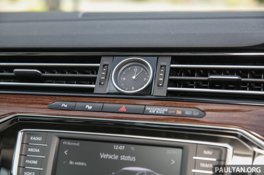 Volkswagen Passat B8 dipertonton awal sebelum pelancaran – pilihan enjin 1.8L dan 2.0L TSI, tiga varian Image #572404
