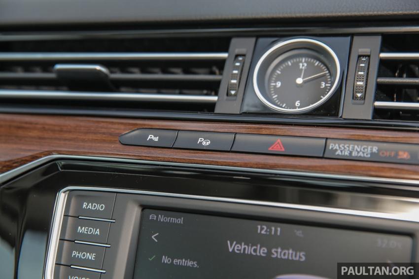 Volkswagen Passat B8 dipertonton awal sebelum pelancaran – pilihan enjin 1.8L dan 2.0L TSI, tiga varian Image #572405