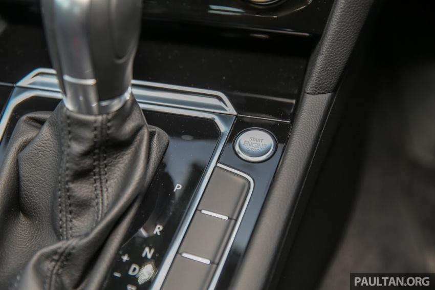 Volkswagen Passat B8 dipertonton awal sebelum pelancaran – pilihan enjin 1.8L dan 2.0L TSI, tiga varian Image #572409