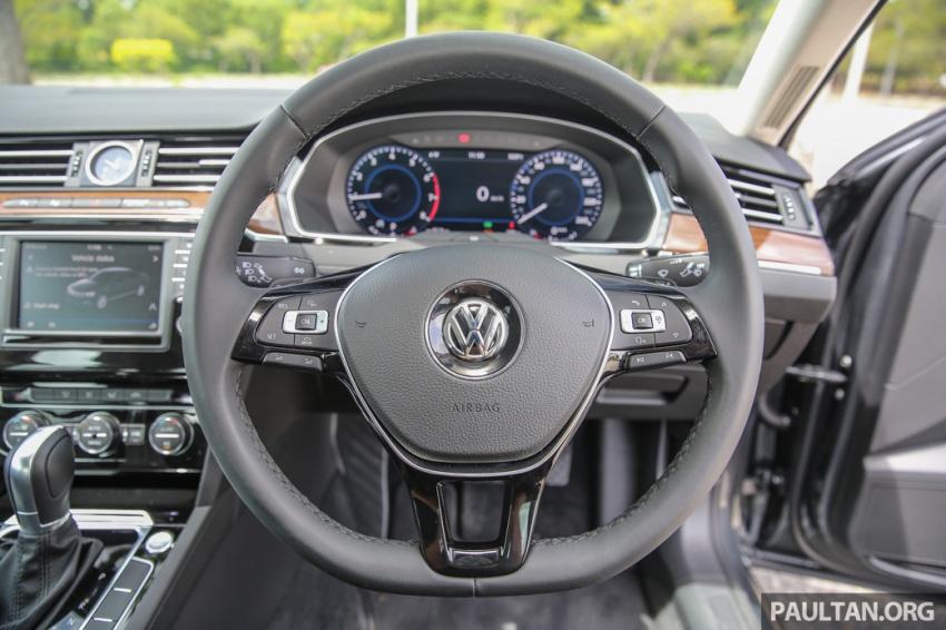 Volkswagen Passat B8 dipertonton awal sebelum pelancaran – pilihan enjin 1.8L dan 2.0L TSI, tiga varian Image #572384