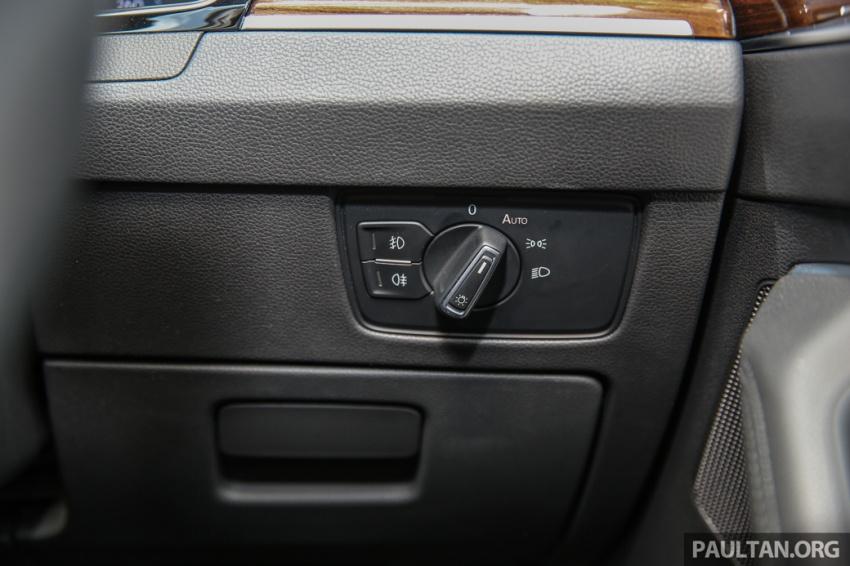 Volkswagen Passat B8 dipertonton awal sebelum pelancaran – pilihan enjin 1.8L dan 2.0L TSI, tiga varian Image #572412